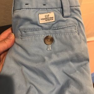 Boys size 5 Vineyard Vines light blue chinos
